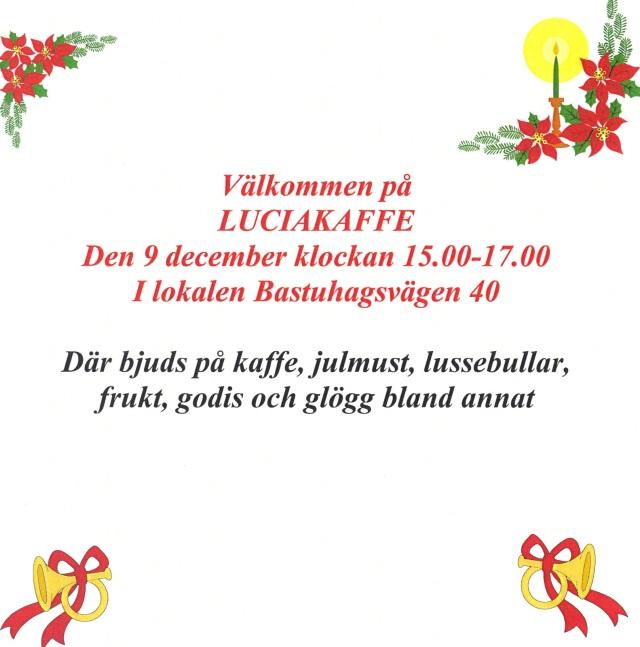 Luciakaffe 2012
