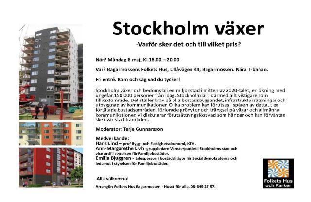 Stockholm växer - Bagarmossens Folkets Hus