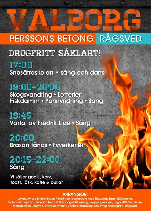 Valborg 2013 - Rågsved