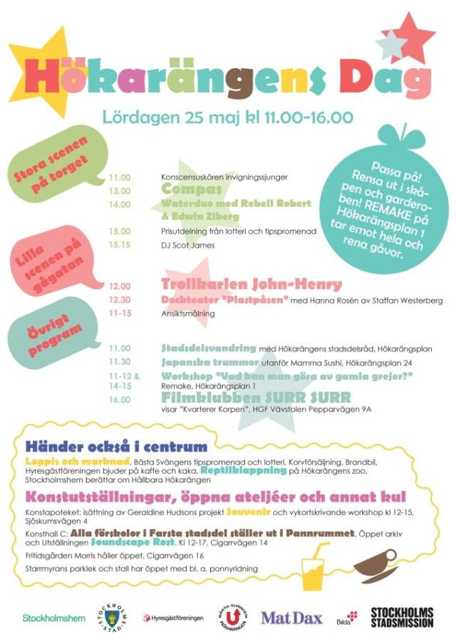 Hökarängens dag 25 maj 2013.