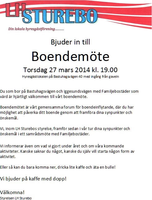 2014-03-27 Boendemöte