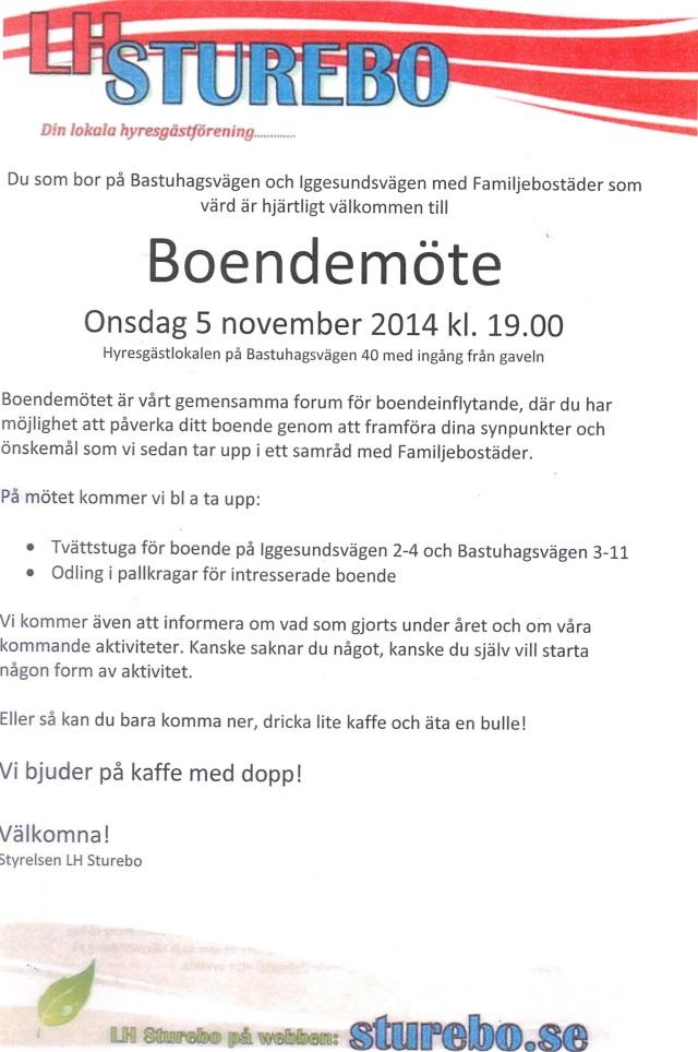 2014-11-05 Boendemöte