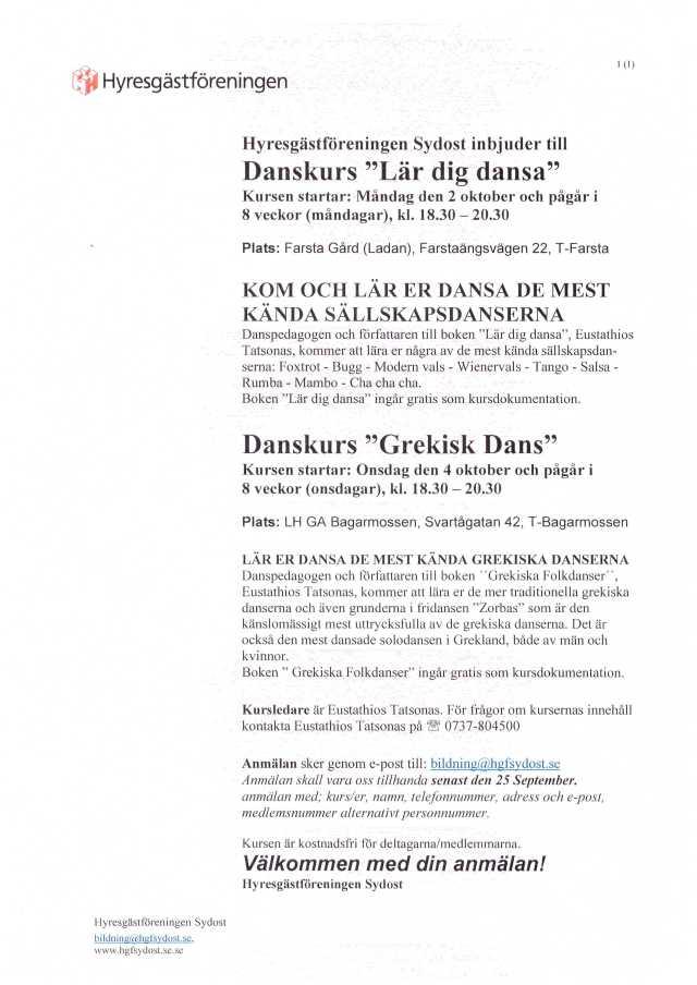 Danskurser